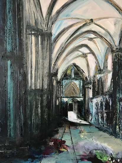 LINCOLN CATHEDRAL SOUTH CHOIR AISLE - Rachel Ashworth-Jerem