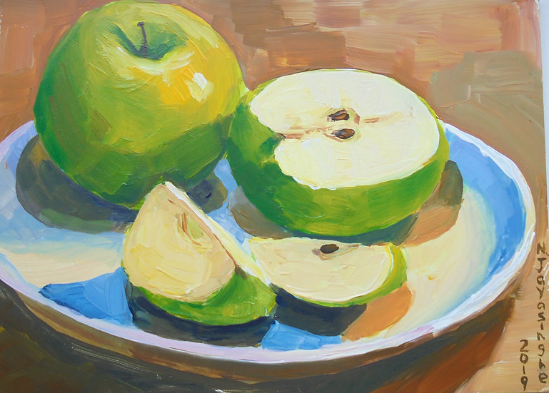 GREEN APPLES - Nina Jayasinghe
