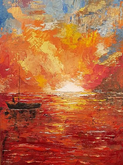 AS THE SUN GOES DOWN - Debi Garrett