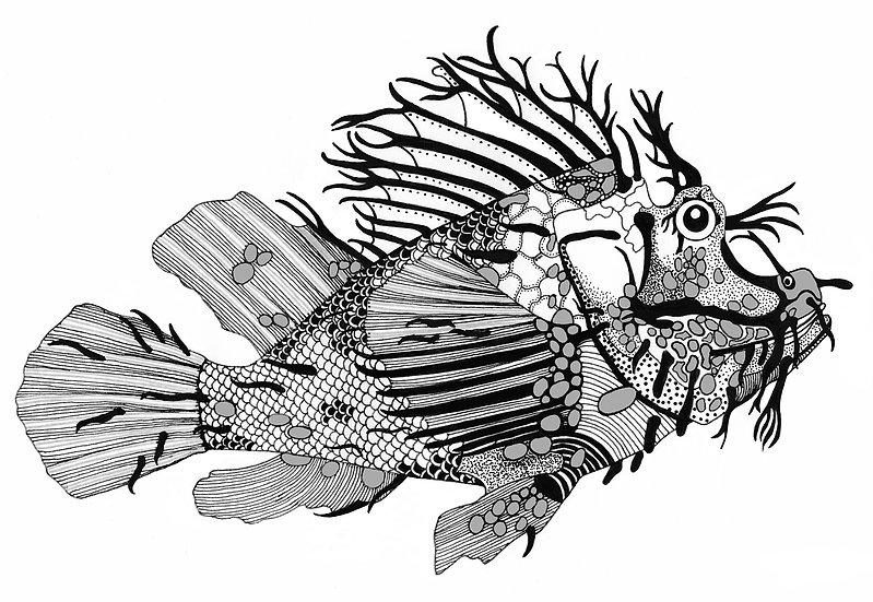 FISH #1 - Barbara Martin