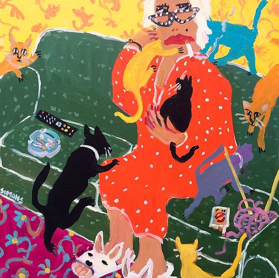 CAT LOVER - Brian Simons