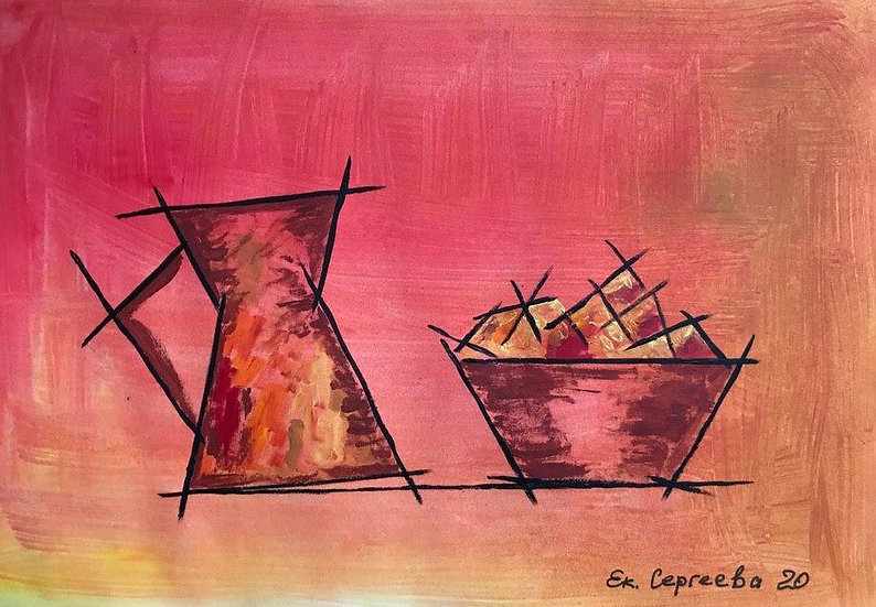 THE ORANGE DIALOGUE- Ekaterina Sergeeva