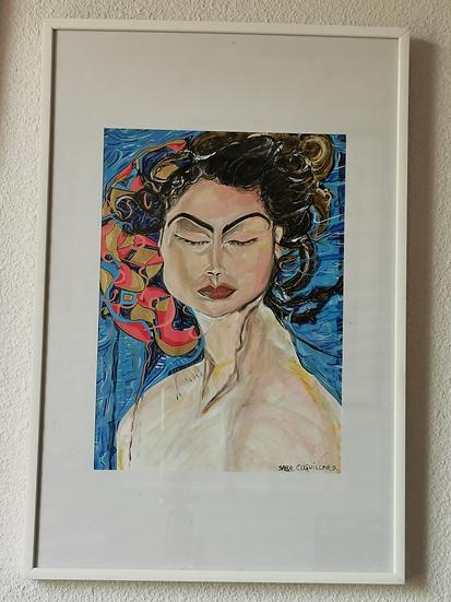 LA FEMME ARBRE - Saba Coquillard art