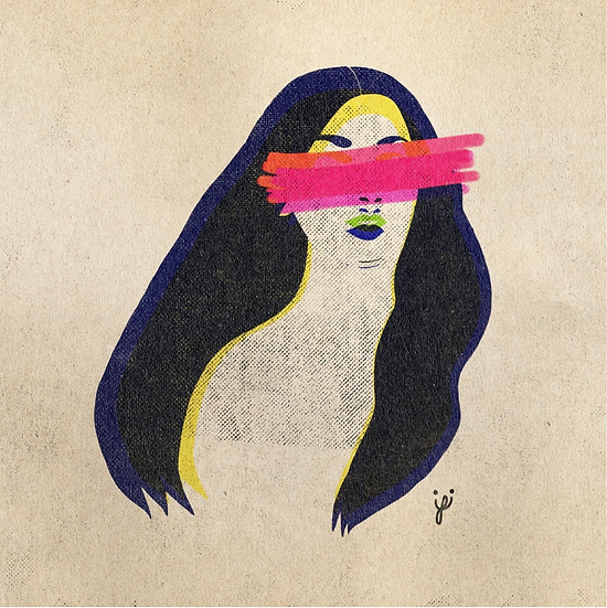 BLINDED RAINBOW - Lesley Anne Mandingo