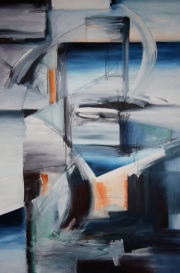 ABSTRACT PAINTING 9 - Juergen Bauer Malerei