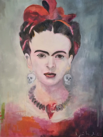 FRIDA'S EARRINGS - Marion Nitsche