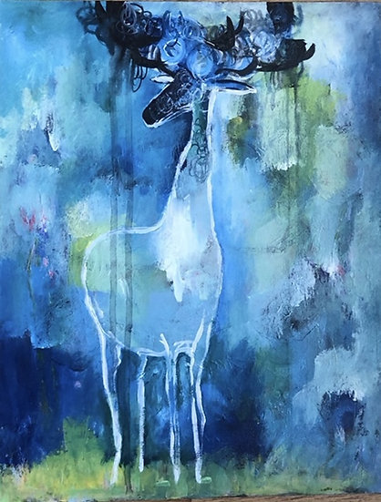 GHOST STAG - Beatrice Ajayi