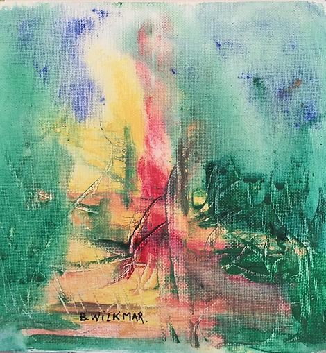 Eld 20 X 20 Artist Berit Wilkmar 500 UK