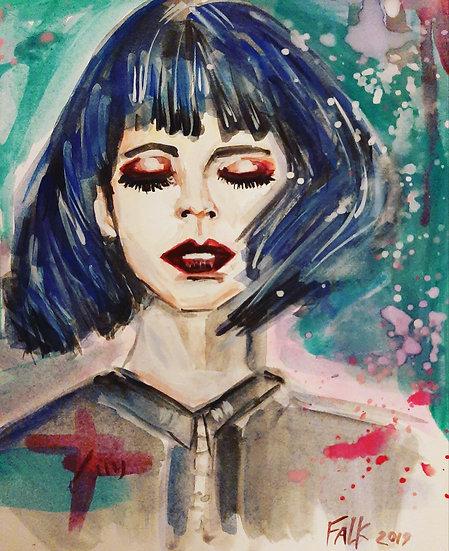 BLUE LADY - Fyonn Kane