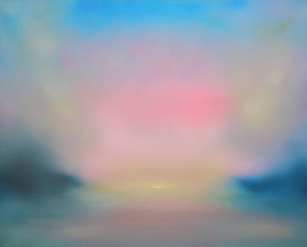 Sunset_Reflections_III_-_Oil_on_Canvas_-