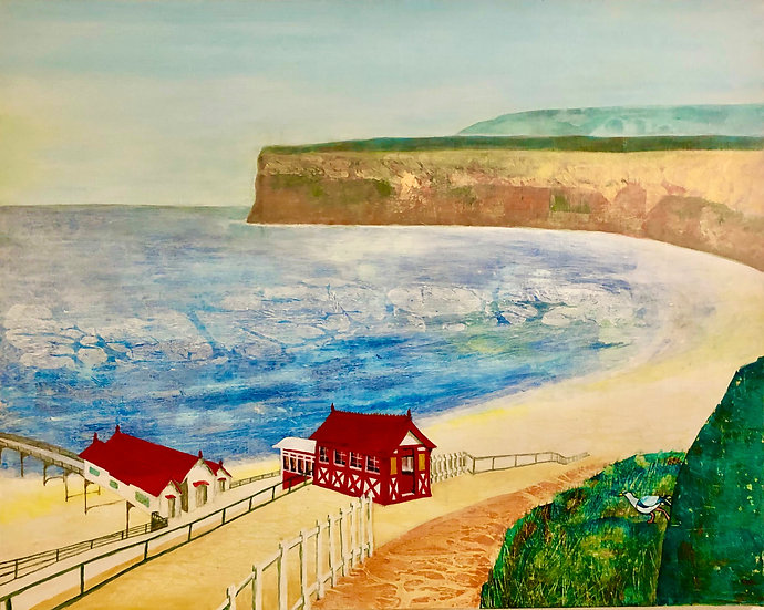 SALTBURN-BY-THE-SEA FUNICULAR - Jane Clarbour