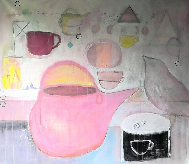 PINK TEAPOT - Michelle Shipka