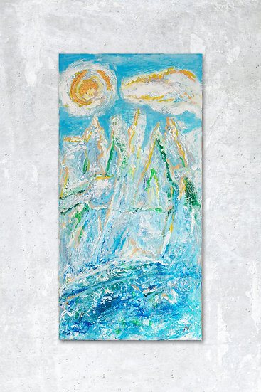 BLUE SERIES INCLUDES: GOLD MOUNTAINS - Adam Neczyperowicz
