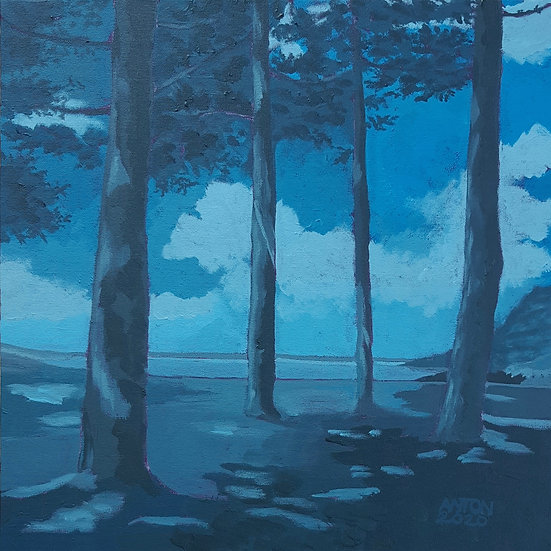 BLUE ATLANTIC PINE - Anton Paul Patrick