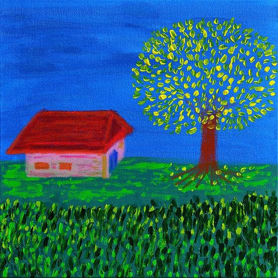 PEACE AT THE SHADOW OF THE YELLOW ACACIA - Nina Guerreiro