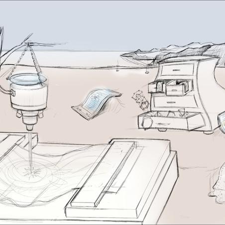 Balandin Lab - Dali sketch