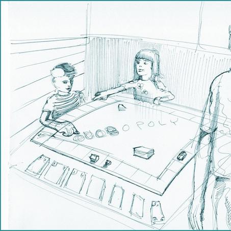 UCR Today interior - sketch