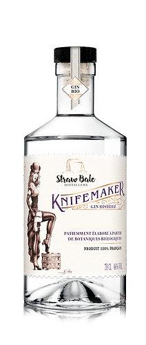Knifemaker - notre premier gin ... sur des notes d'agrumes