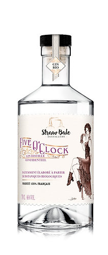 Five o'clock - un gin sur des notes de fruits rouges