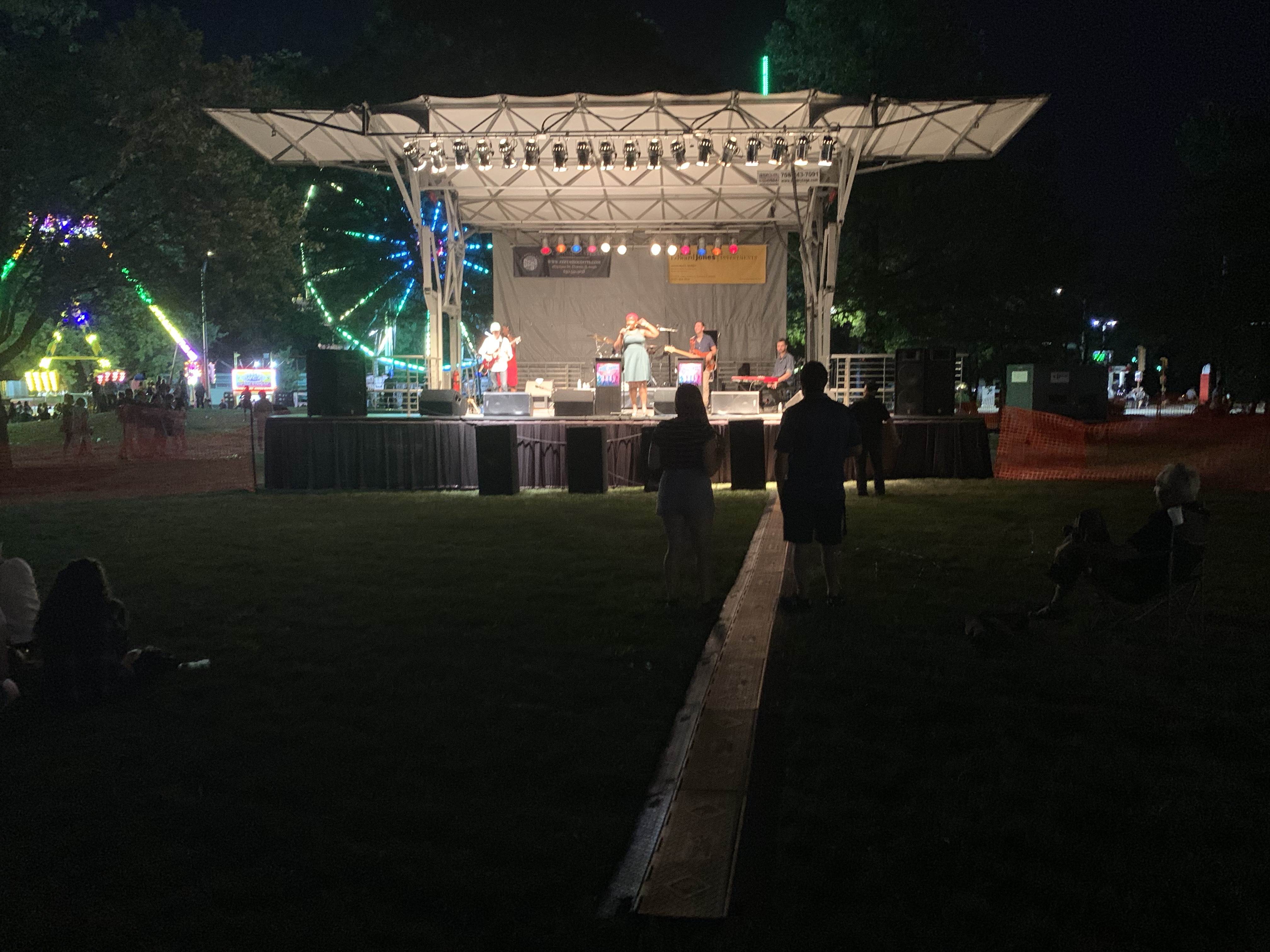 DarienFest 2019 Stage and Artist