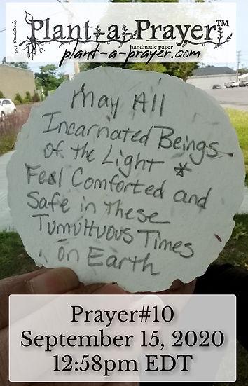 Plant-a-Prayer™- Prayer #10- September 1