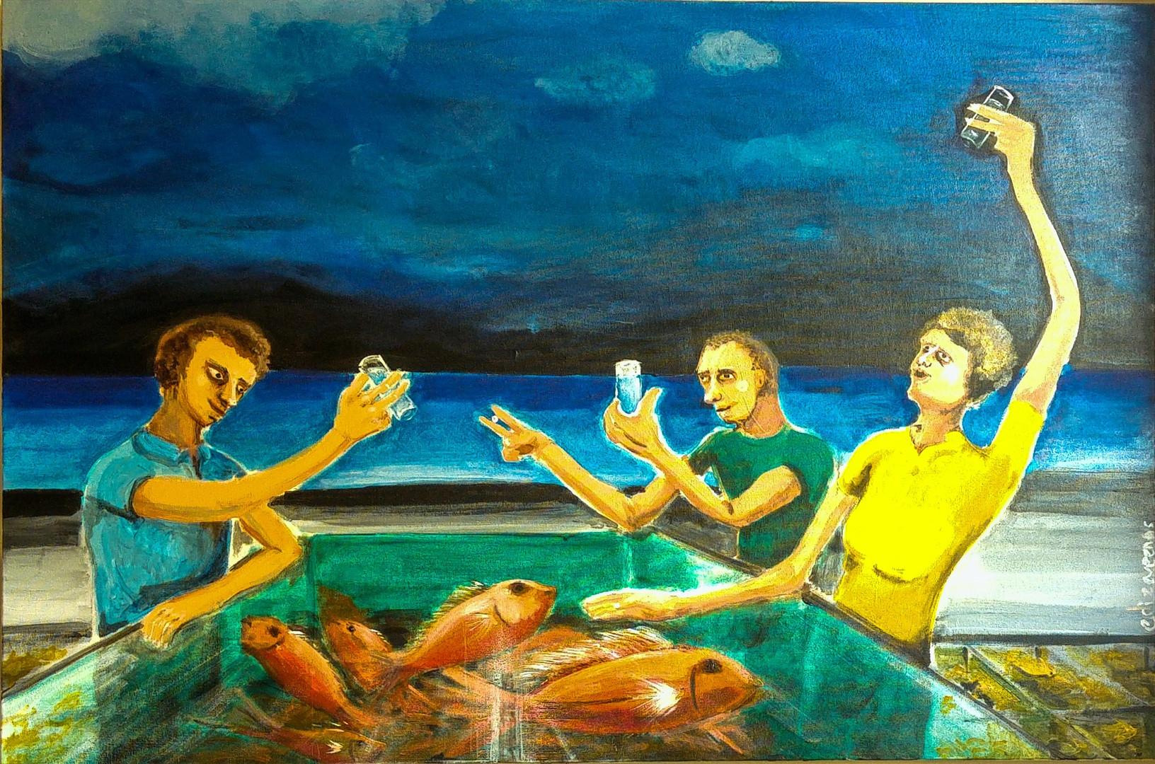 acrylic on canvas 24 x 36 inch