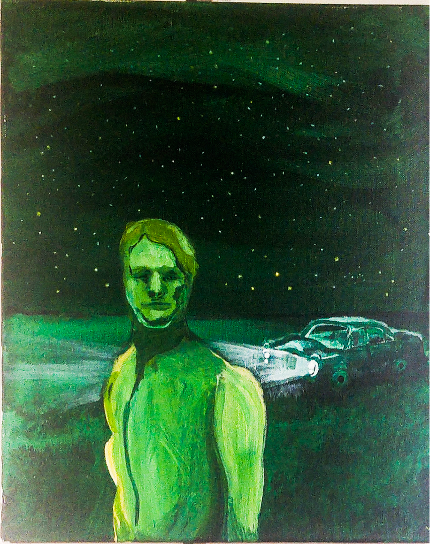 acrylic on canvas 20 x 16 inch