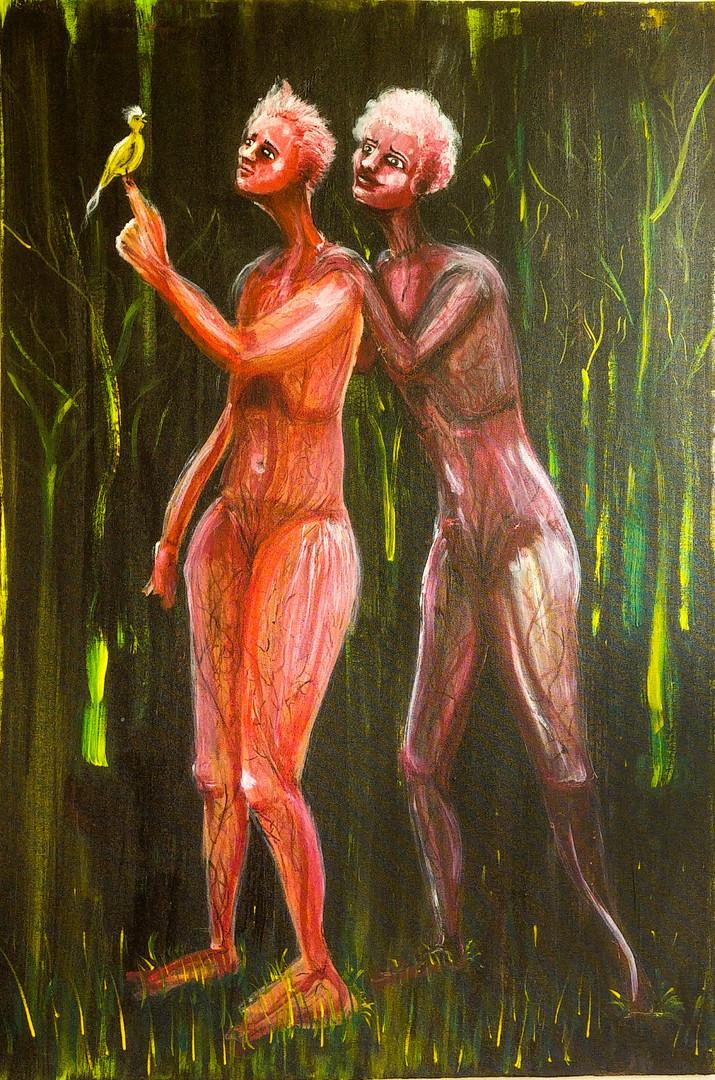 acrylic on canvas 36 x 24 inch