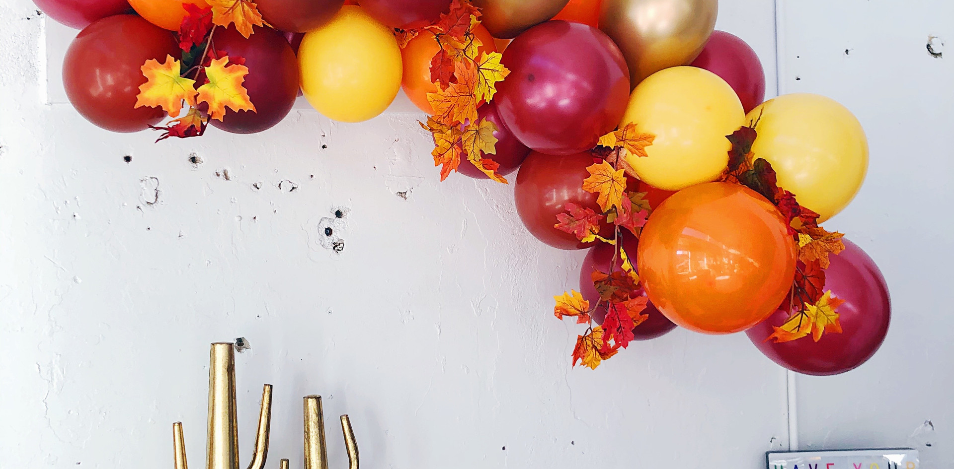 Fall/Thanksgiving Theme 4ft Balloon Garland