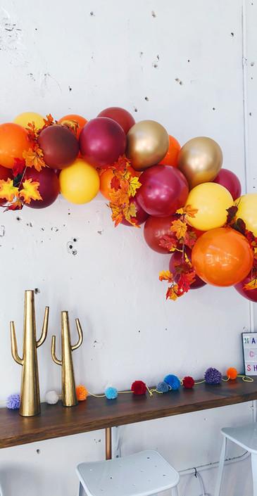 Fall/Thanksgiving Theme 4ft Balloon Garland