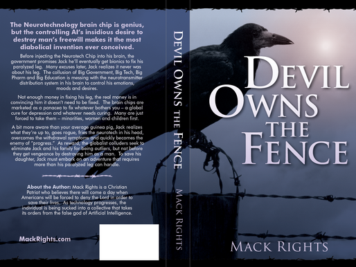 Back of the Book for Devil Owns the Fence