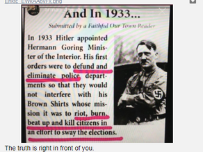 Democrats are the Fascists Now