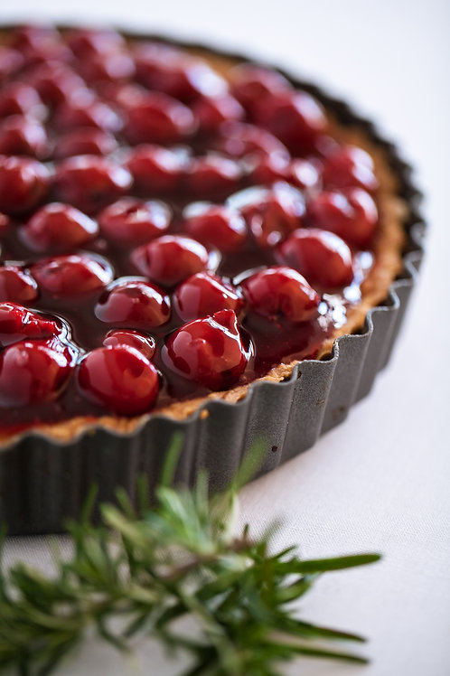 Cherry Cheesecake Tart