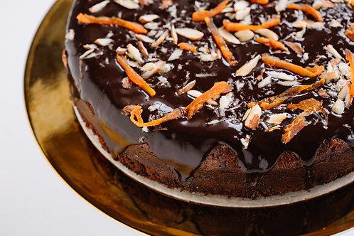 Chocolate & Orange Cake - GF, DF