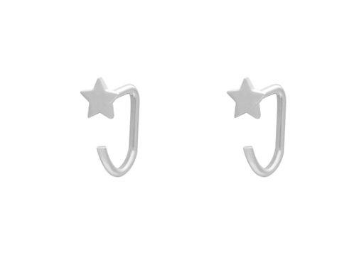 Oorbellen Huggies star