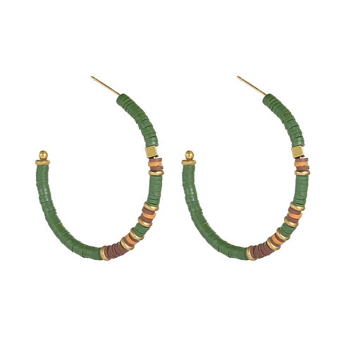 Earrings paint a picture