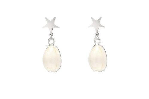 Earrings Elegant ocean star