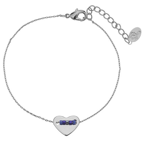 Bracelet pretty beads heart