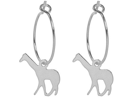 Earrings basic giraffe