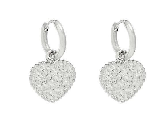 Earrings my gold heart