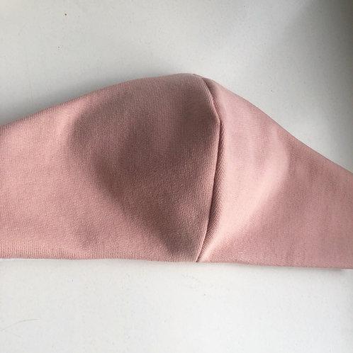 Mondkapje Zacht roze met filter/ wasbaar