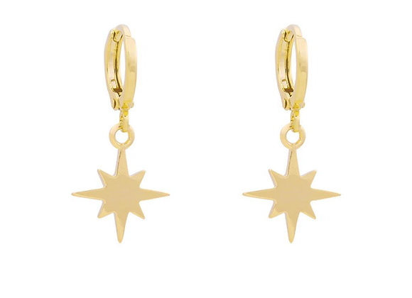 Earrings Universe star