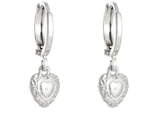 Earrings romantic love