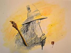 Tribute to Kinko White's Gandalf