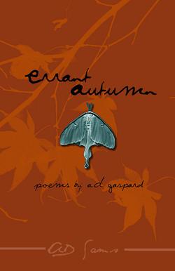 Errant Autumn Book Cover Design