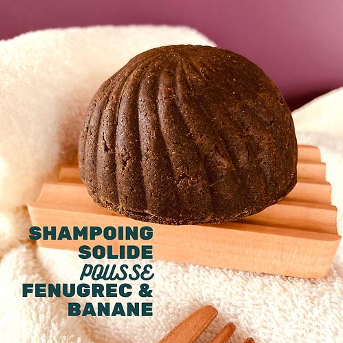 Shampoing POUSSE au Fenugrec & Banane