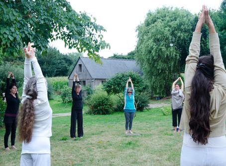 Yoga 🧘🏽♀️du 8 juin au 8 juillet🧘🏽♀️ Réservez0633181239