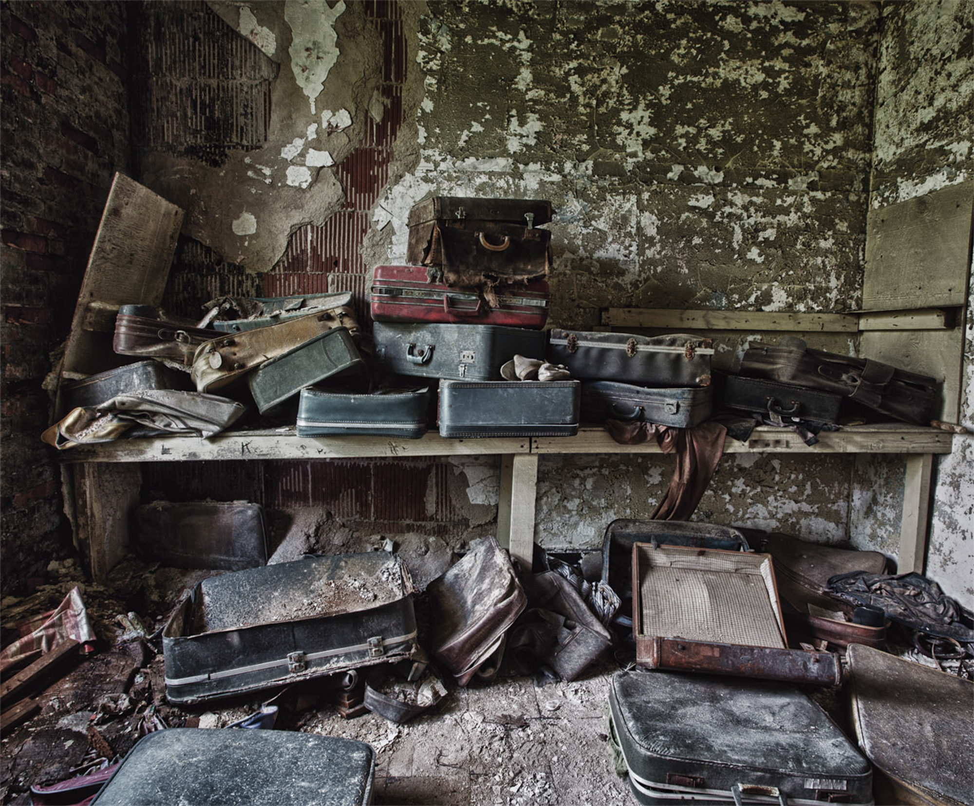 Suitcases of the Abandoned