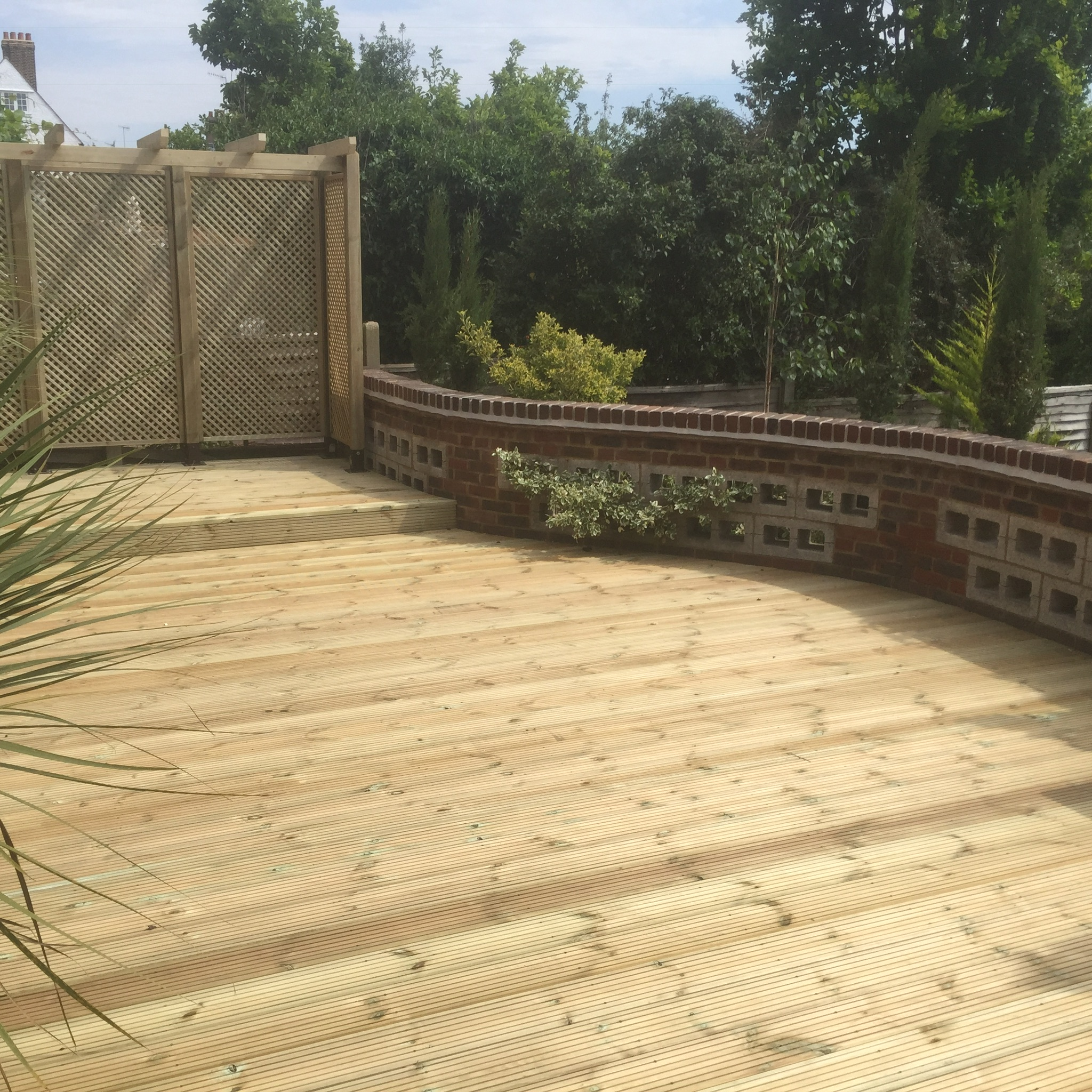 Decking job in Bushey