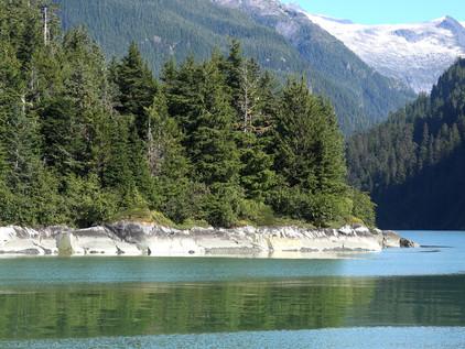 Thomas Bay and the Glaciers
